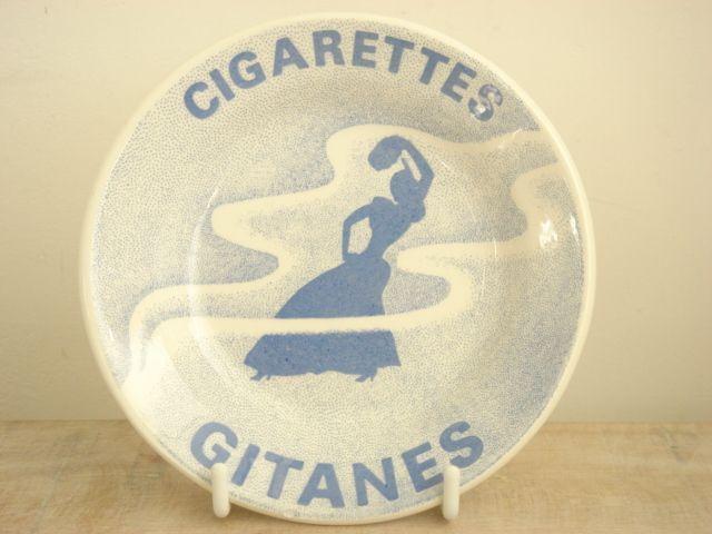 GITANES ジタン ビンテージ 灰皿 GIEN製
