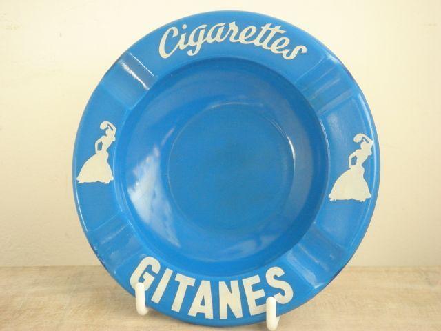 GITANES ジタン ビンテージ 灰皿 OPALEX ガラス製