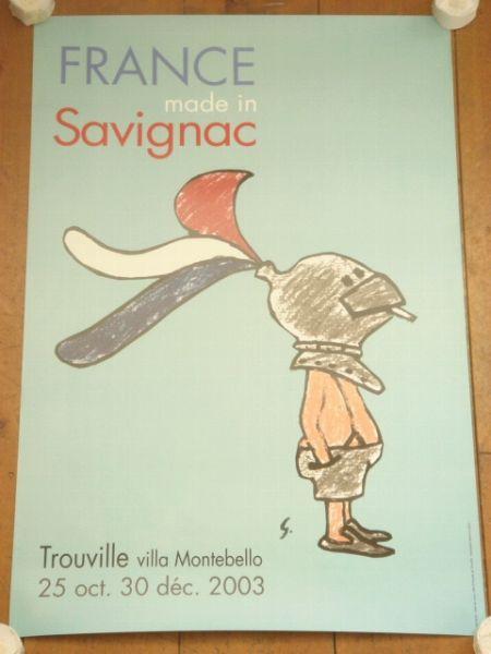Savignac サヴィニャックポスター FRANCE made in Savignac