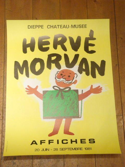 エルベ・モルバン HERVE MORVAN AFFICHES