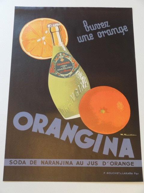 ORANGINA オランジーナ オリジナルポスター