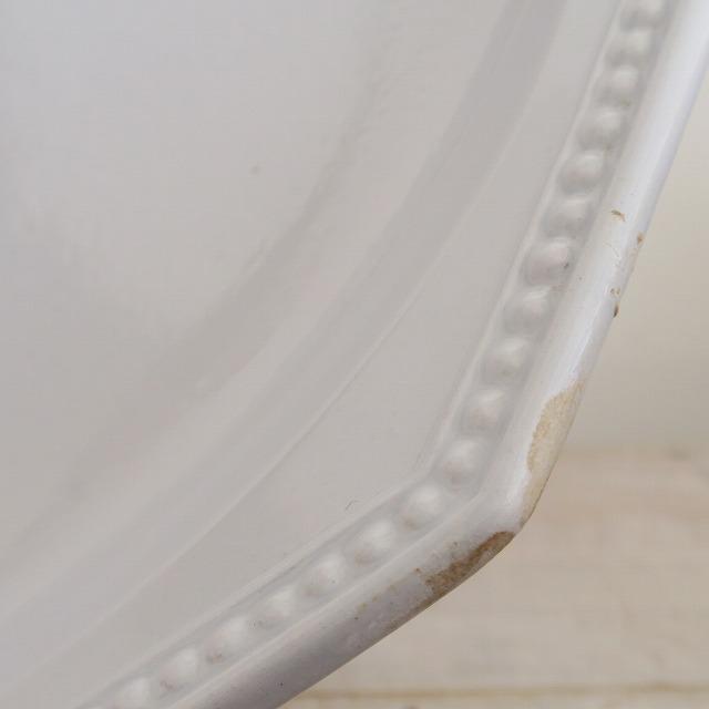 モントロー オクトゴナル 淡いブルーのコンポティエ Montereau
