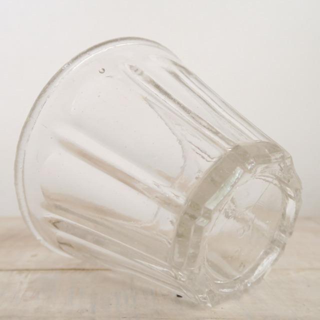 フランス アンティーク ジャムポット ガラス製