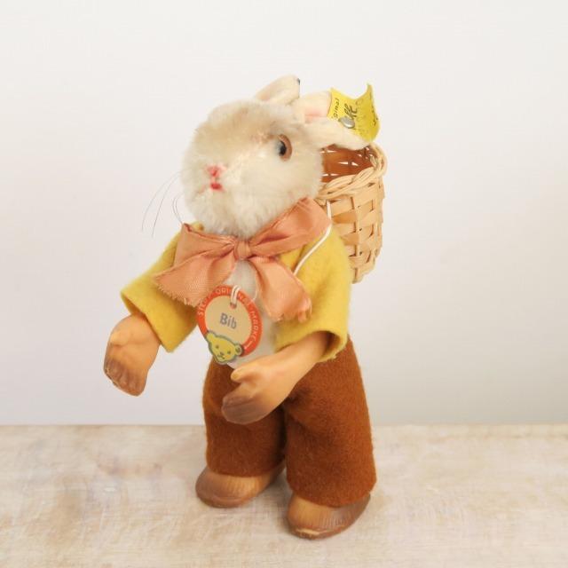 アンティーク シュタイフ ウサギ Steiff Bib 12cm