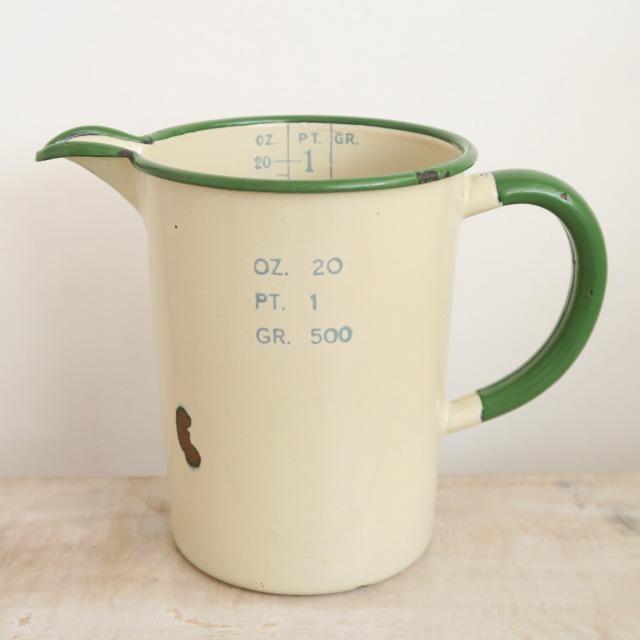 アンティーク ホウロウ製 計量ピッチャー Gr.500 KOCKUMS