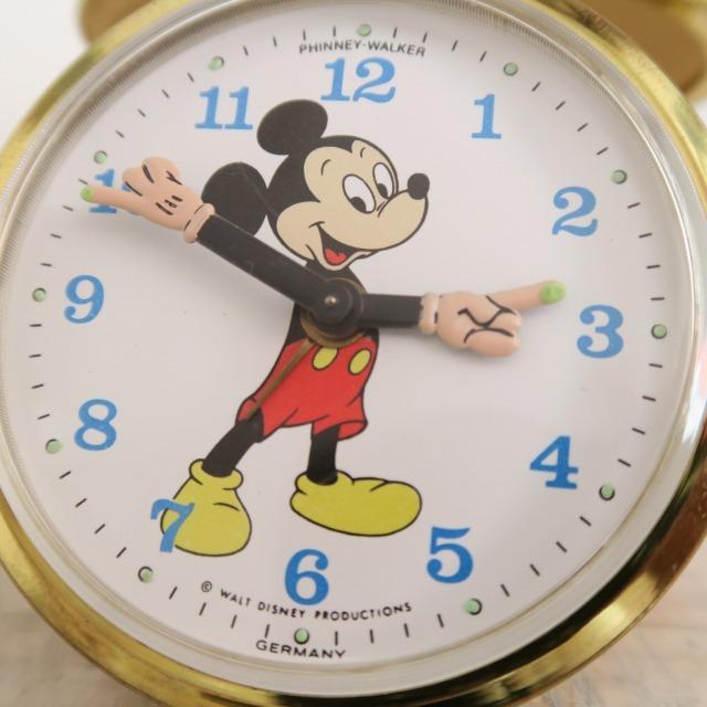 ウォルト・ディズニー ミッキーマウス ビンテージトラベル時計 HAMILTON製