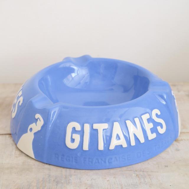 ジタン ビンテージ 灰皿 GITANES LONGCHAMP製