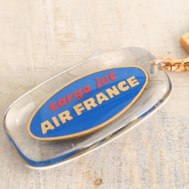 ブルボンキーホルダー エールフランス 貨物 AIR FRANCE CARGO JET