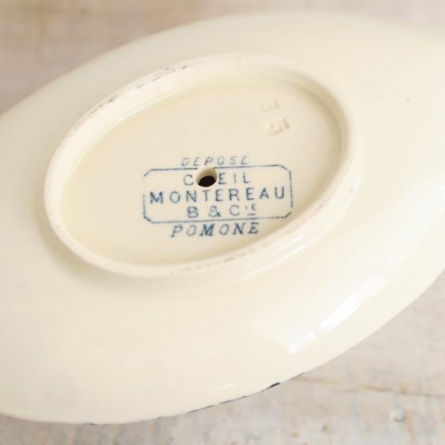 クレイユモントロー製 アンティーク ムータルディエ POMONE Creil Montereau