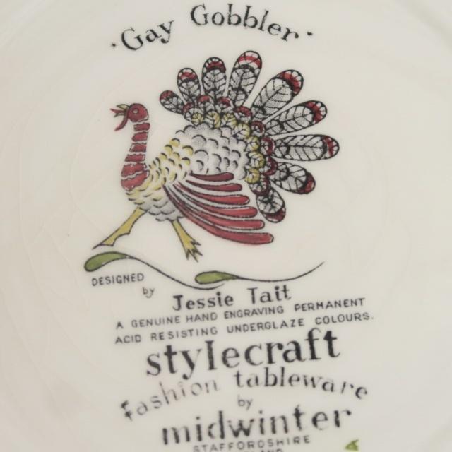 ミッドウィンター 七面鳥 プレート MIDWINTER Gay Gobbler
