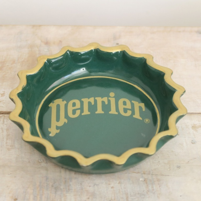 ペリエ ビンテージ灰皿 Perrier