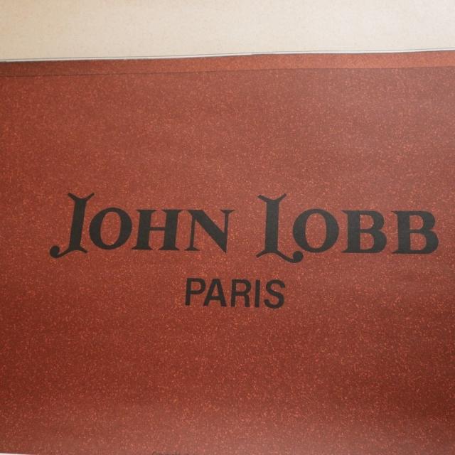 ジョンロブ パリ リトグラフ ビンテージポスター JOHN LOBB PARIS