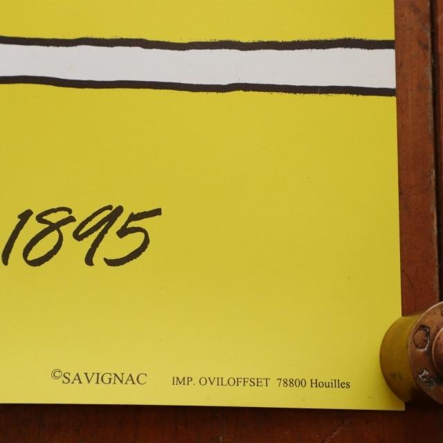 サヴィニャック オリジナルポスター A la Petite Jannette SAVIGNAC