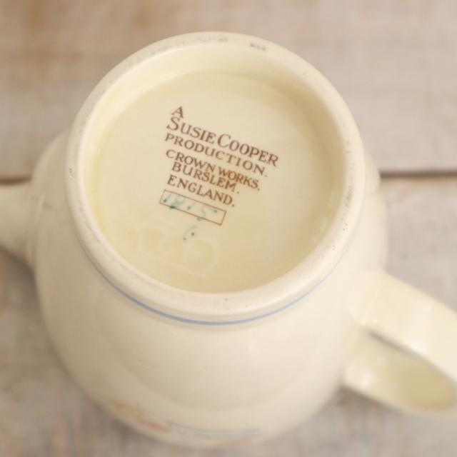 スージークーパー フローラル コーヒーポット SUSIE COOPER