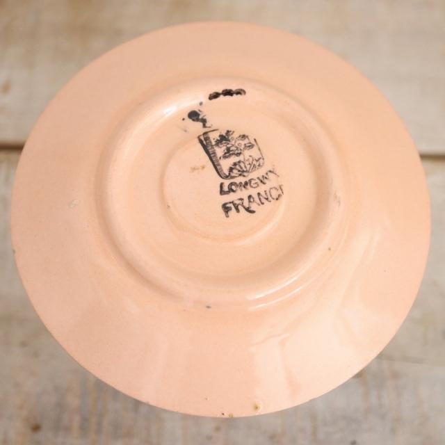 アンティーク エッグカップ アヒル フランス ロンウィー製 LONGWY