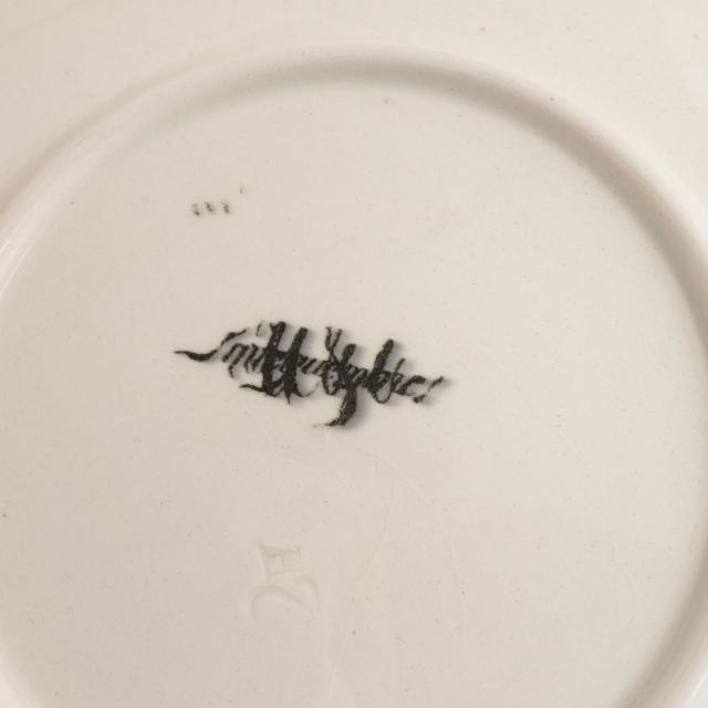 アンティークプレート アンファン フランス サルグミンヌ製 U&C SARREGUEMINES