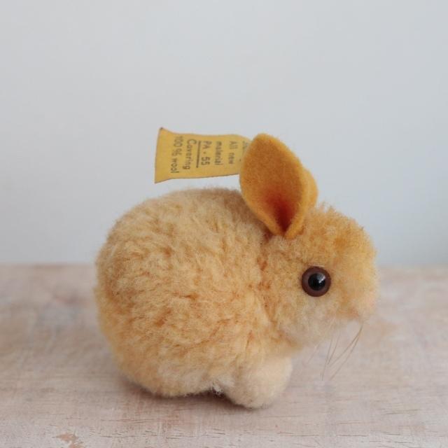 アンティーク シュタイフ ウサギ ウーレン ミニチュア  Steiff 4cm