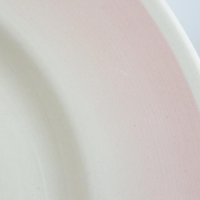 スージークーパー ドレスデンスプレイ ピンク プレート SUSIE COOPER