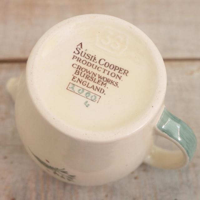 スージークーパー タイガーリリー ミルクジャグ SUSIE COOPER