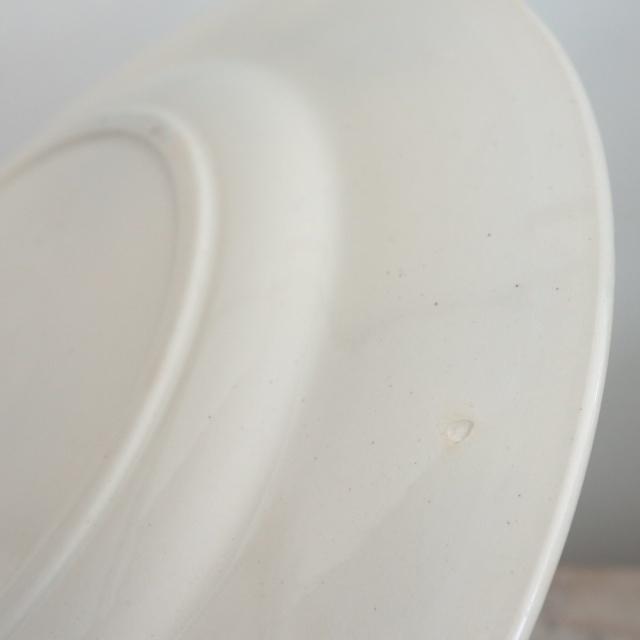 アンティークプレート 皿 CHANTEURS ベルギー ボッホ製 Boch Freres Keramis