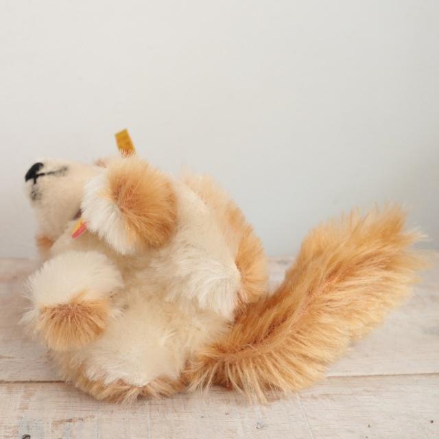 ビンテージ シュタイフ キツネ Steiff Fuzzy 12cm
