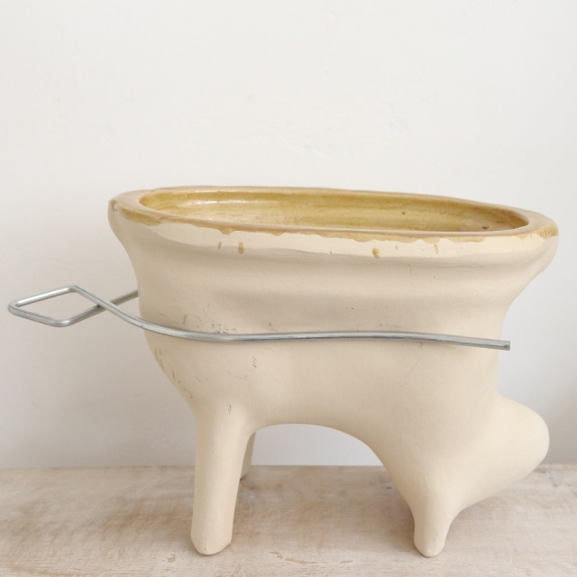アニョーパスカル アルザス地方 スフレンハイム焼き 陶器製 ヒツジの型