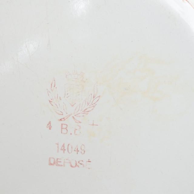 BB社 レッドストライプ アンティーク ホウロウキャニスター Farine 小麦粉