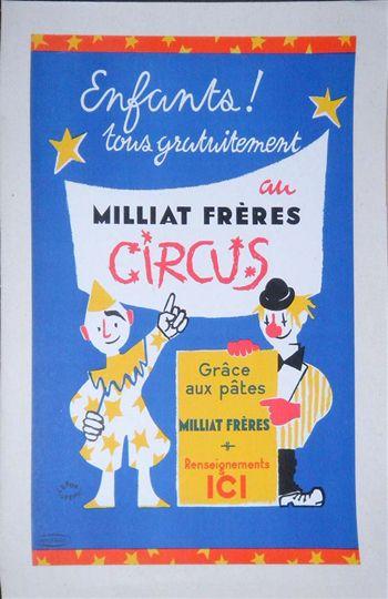MILLIAT FRERES ビンテージポスター