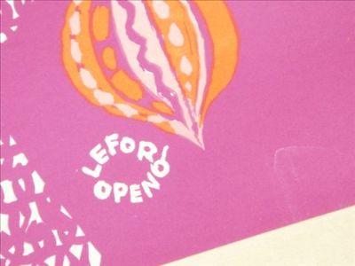 ルフォール・オプノ NOEL 1959 ビンテージポスター