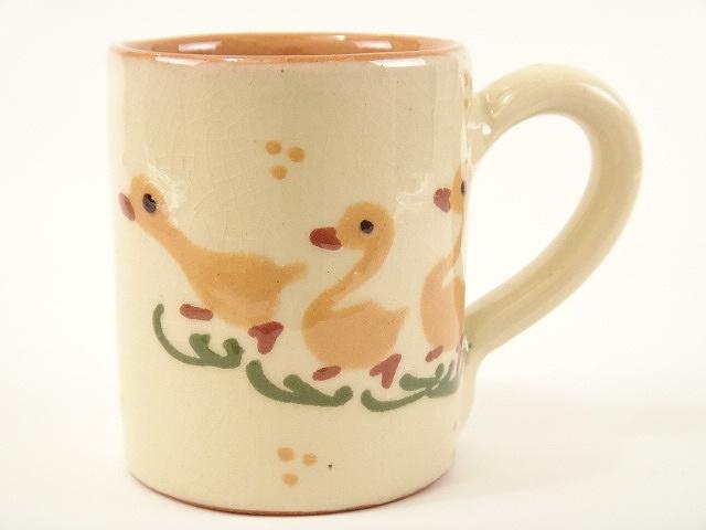 スフレンハイム焼き 3羽のアヒル マグカップ