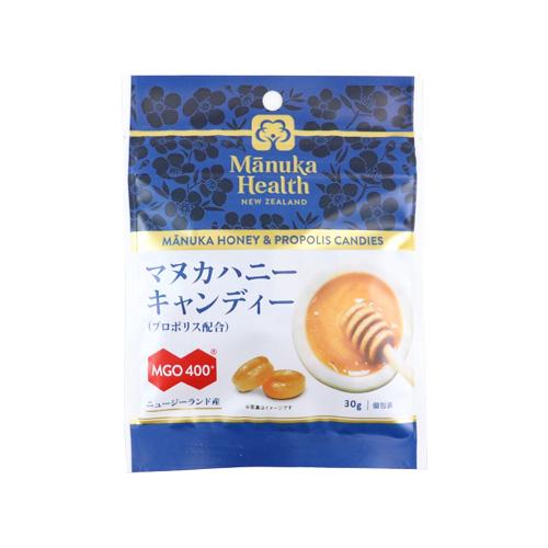 マヌカハニーMGO400+キャンディー(プロポリス配合)30g