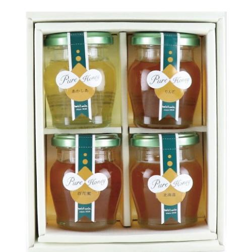 人気の国産蜂蜜詰合せ