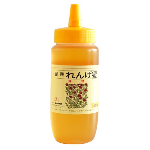 国産れんげ蜂蜜500g