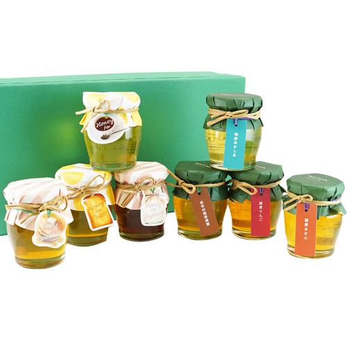 蜂蜜食べ比べ堪能8本セット