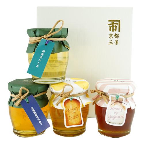 人気の蜂蜜食べ比べセット