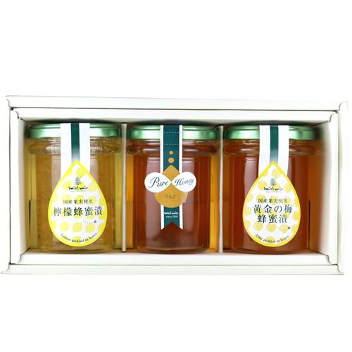 国産蜂蜜&蜂蜜漬け詰合せ