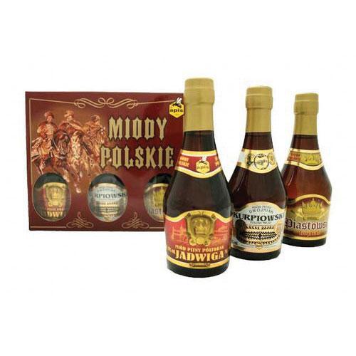 【ミードの日】ポーランドミード・アピスミニボトル3本セット