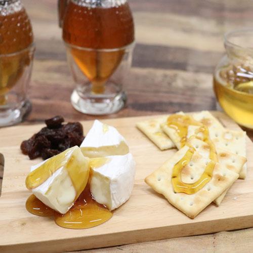 チーズと蜂蜜の相性はばっちり