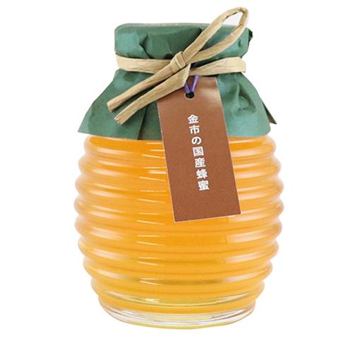 金市の国産蜂蜜200g