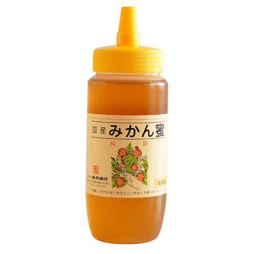 国産みかん蜂蜜500g