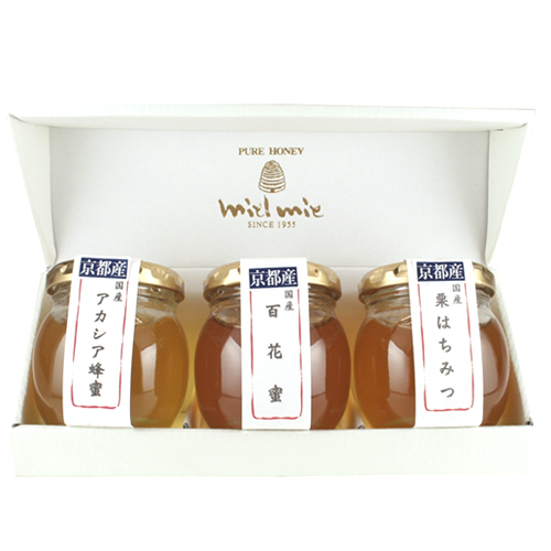 京都産蜂蜜3本セット
