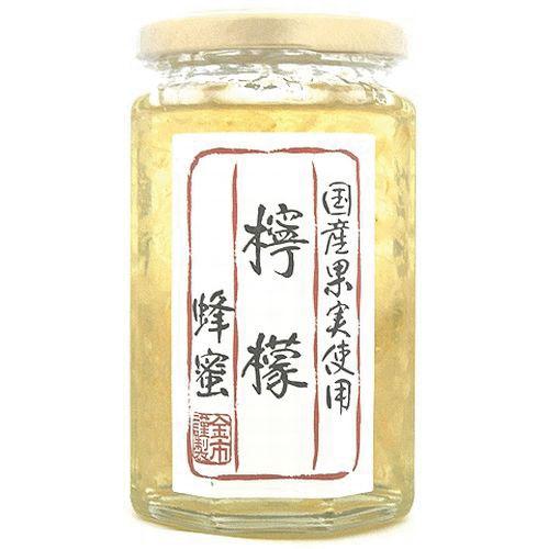 国産果実使用 檸檬(レモン)漬け蜂蜜350g