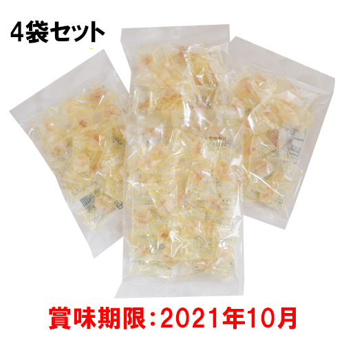 【はちみつの日フェア限定】4袋セット蜂蜜のあめさん(イタリア産レモン蜂蜜使用)