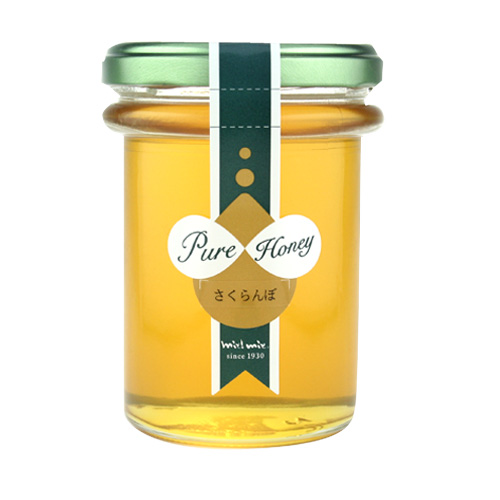 国産さくらんぼ蜂蜜190g