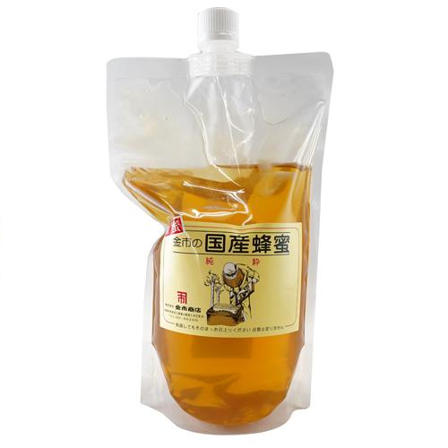 新蜜金市の国産蜂蜜(はぜ蜂蜜)900g