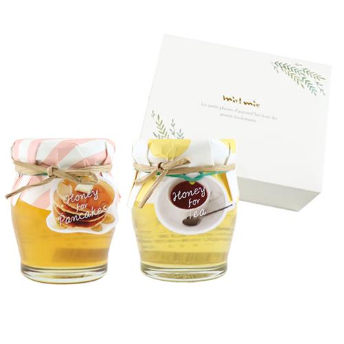 ティータイムにぴったりな蜂蜜セット(パンケーキ・紅茶)