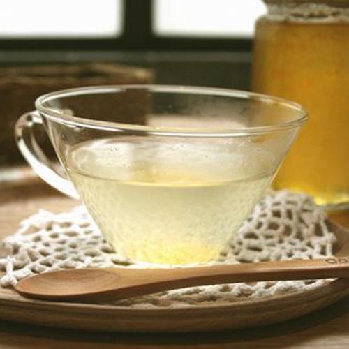 お湯で割って柚子茶として