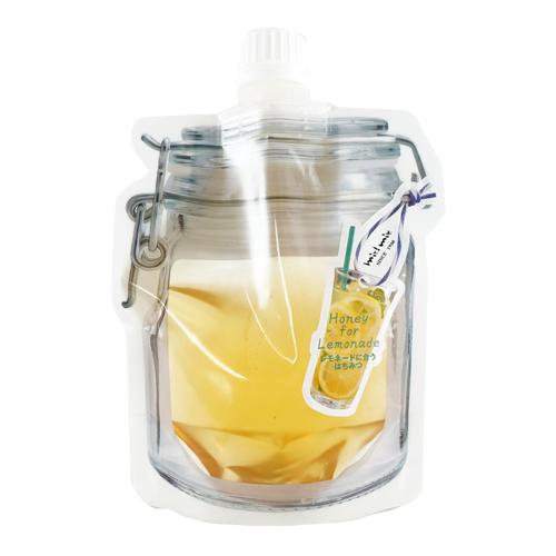 レモネードに合う蜂蜜シールアップパウチ入り