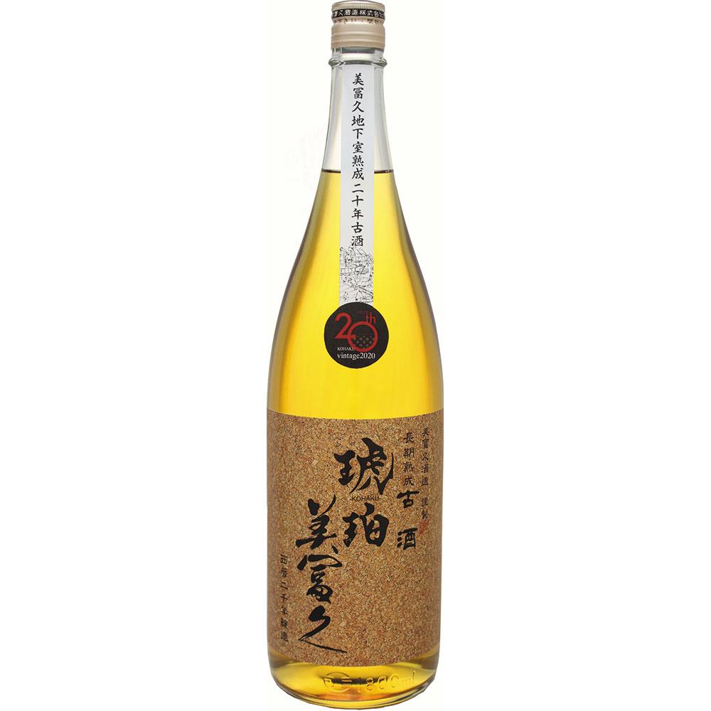 長期熟成古酒 琥珀美冨久1.8L