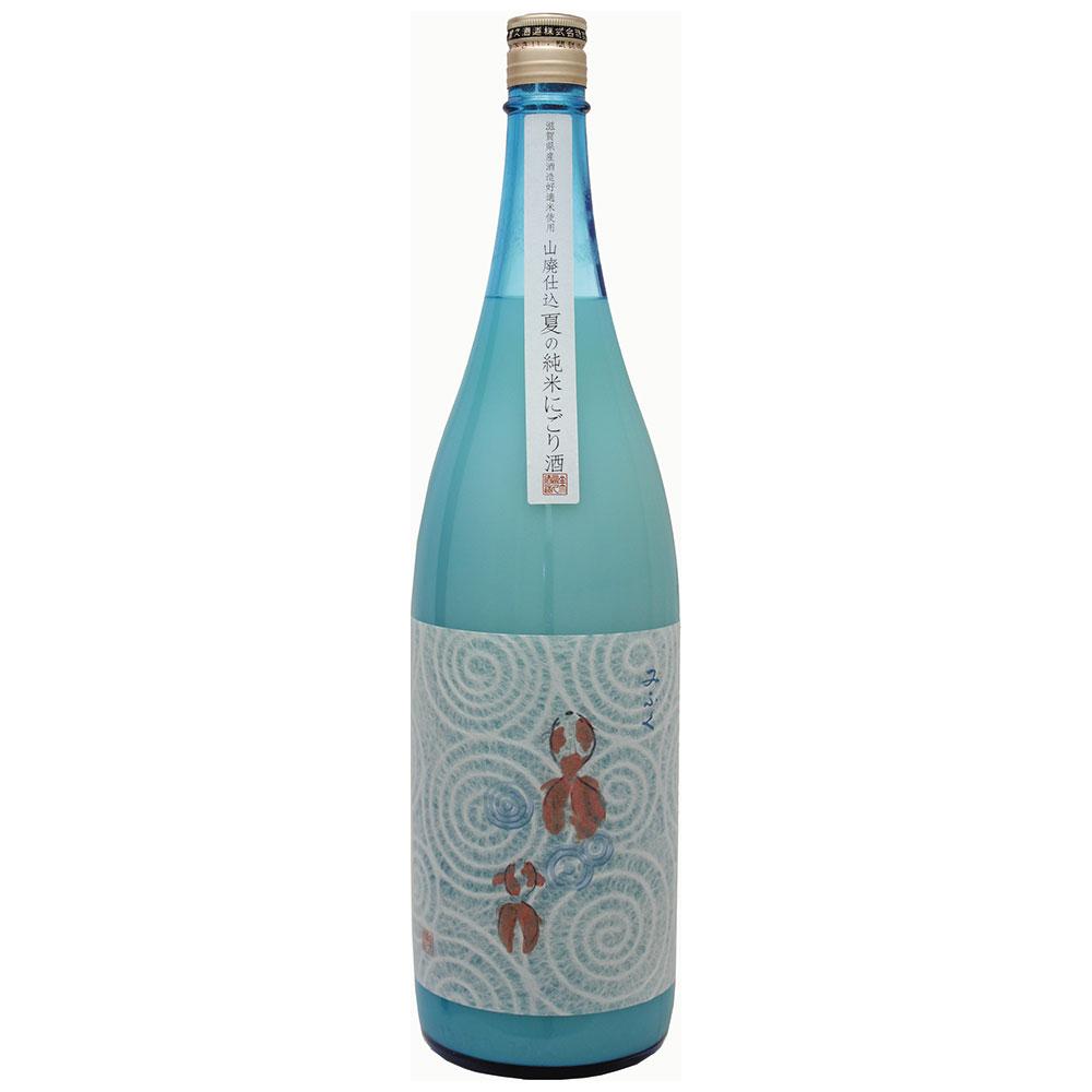 新山廃純米にごり酒(金魚ラベル)1800ml